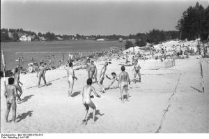 FKK-Strand im Bezirk Cottbus